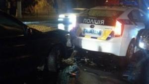 В Одессе сотрудники патрульной полиции попали в ДТП