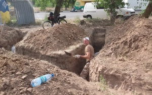 В Херсонской области жители готовятся к обороне своих районов