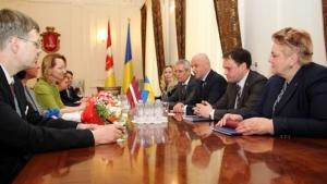 В Одессе открылось Почетное консульство Латвии