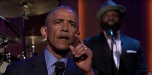 Обама в комедийном шоу спел о своих достижениях на посту президента США