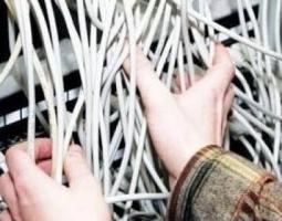 В Николаеве воры срезали 100 м телефонного кабеля, однако сдать его в пункт приема металлолома им помешала милиция