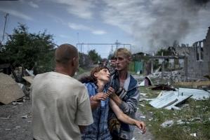 В Луганске погибли шесть мирных жителей, и семь – получили ранения