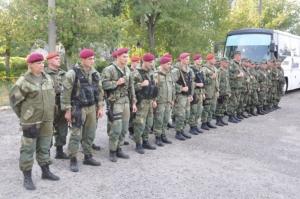 Николаевский отряд спецназовцев вместе с милиционерами-добровольцами отправился в зону АТО