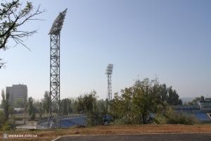 К концу года в Николаеве планируют завершить реконструкцию Центрального стадиона