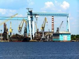 В Николаеве рабочие судостроительного завода в знак протеста собираются перекрыть трассу