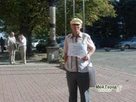«Миколаєву особливий статус. У місті багато падлюк» - скандально известный Ильченко устроил очередной монопикет под горсоветом
