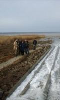 В Одесской области прошел пробный запуск морской воды в Куяльницкий лиман