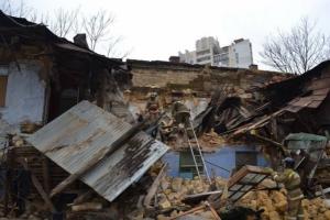 В Одессе рухнул двухэтажный дом