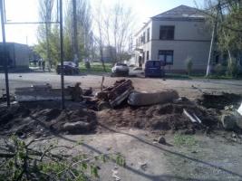 В Херсонской области после взрыва автомобиля усилили меры безопасности