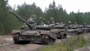 Боевики наращивают количество военной техники в районе Комсомольска