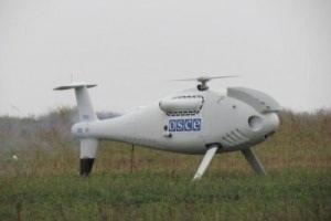 ОБСЕ приостановила работу беспилотников на востоке Украины из-за угрозы электронных помех