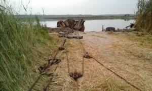 В Матвеевке из-за добытчиков металла разрушается береговая флора