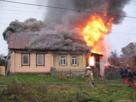 В Николаевской области ликвидирован пожар жилого дома