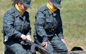В Украине хотят создать женский батальон