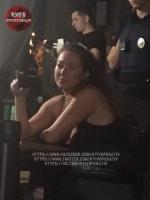 В Киеве патрульная устроила стрельбу в ресторане