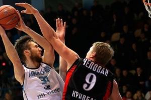 Николаевские баскетболисты обыграли команду из Кривого Рога