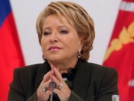 Россия не вернет Украине Крым - Матвиенко