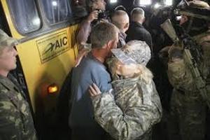 Вышли из плена боевиков семь украинских военных