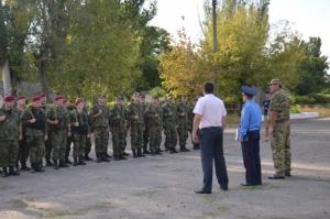Николаевские спецназовцы отправились в зону АТО