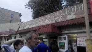 В Одессе активисты остановили рейдерский захват магазина-пекарни
