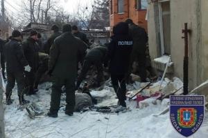 В Одессе в результате взрыва дома погибли двое, одна из версий - взрывчатка