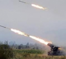Ночью аэропорт в Донецке обстреляли из Градов – пресс-центр АТО
