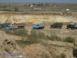 Передел на рынке незаконной добычи песка – за два дня милиция закрыла все песчаные карьеры