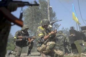 Ситуация в зоне АТО. С наступлением темноты боевики пытались прорваться через украинские позиции