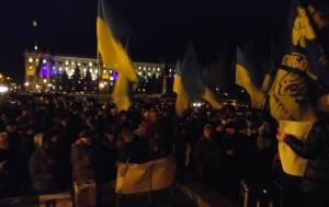 Активисты хотят установить памятный знак на месте проведения николаевского Майдана