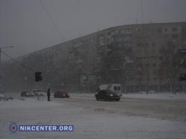 Из-за непогоды в Одессу ограничили въезд транспорта