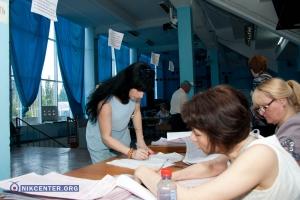 Выборы в Николаеве - фотохроника событий