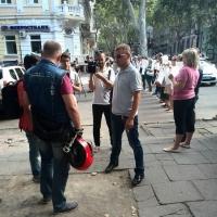 Одесский Антимайдан митинговал в поддержку милиции