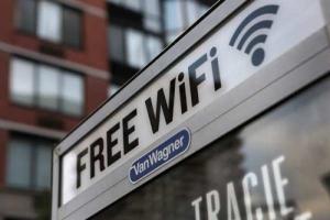 В историческом центре Херсона на улице появился бесплатный Wi-Fi