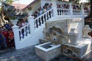 В николаевском яхт-клубе восстановили турецкий фонтан с родниковой водой