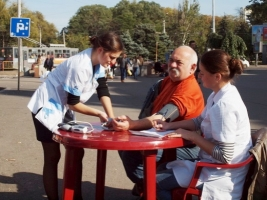 В Одессе прошли акции к Всемирному дню сердца