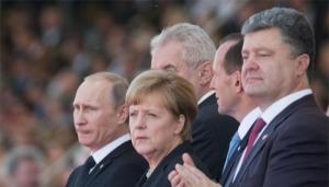 Сегодня лидеры четырех стран в телефонном режиме обсудят ситуацию на Украине