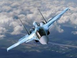 В Волгоградской области разбился фронтовой бомбардировщик Су-24