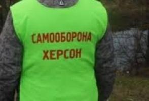 Херсонская Самооборона задержала иногородних наемников, которые приезжали на «проплаченый» митинг