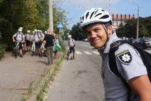 В Запорожье начала работать велополиция
