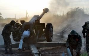 За минувшие сутки боевики 83 раза  обстреляли позиции сил АТО - штаб