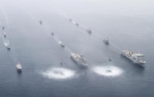 Морские учения боевых кораблей Украины и США «Си Бриз-2014» завершились