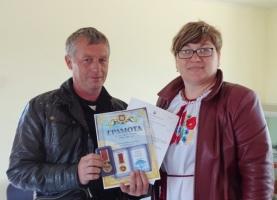 Николаевский волонтер получила медаль «За бескорыстное служение Родине»