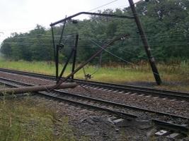 В Одесской области неизвестные подорвали железную дорогу
