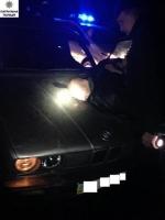 В Николаеве несколько экипажей патрульных в погоне задержали пьяного водителя