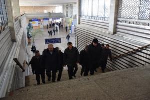 На первый этап реконструкции ж/д вокзала в Николаеве потратили около 16 млн. гривен