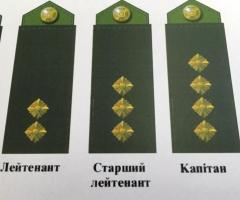 В Украине с погон уберут звезды в связи с декоммунизацией