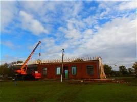 В одном из сел Братского района заканчивают ремонтировать Дом культуры