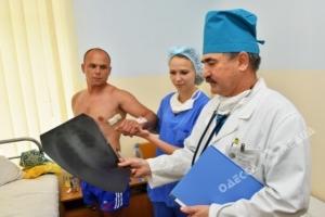 В Одессу привозят на лечение раненых с Восточной Украины