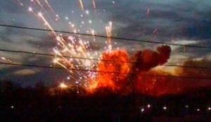 В результате взрыва военных складов на Луганщине погибли два человека