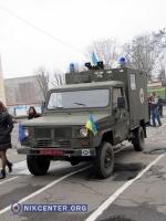 Одесским военным подарили санитарную машину